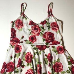 Forever 21 Mini Rose Dress Small